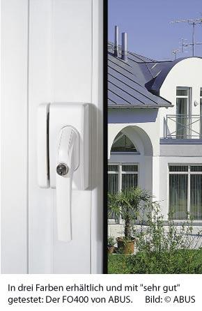 stiftung warentest pr ft fenstersicherungen haus f r. Black Bedroom Furniture Sets. Home Design Ideas